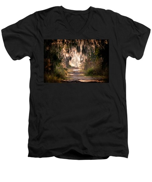 Capture Men's V-Neck T-Shirt
