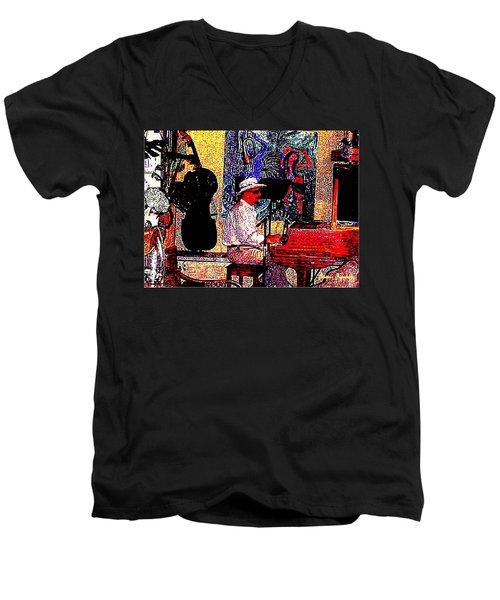 Casanova Men's V-Neck T-Shirt