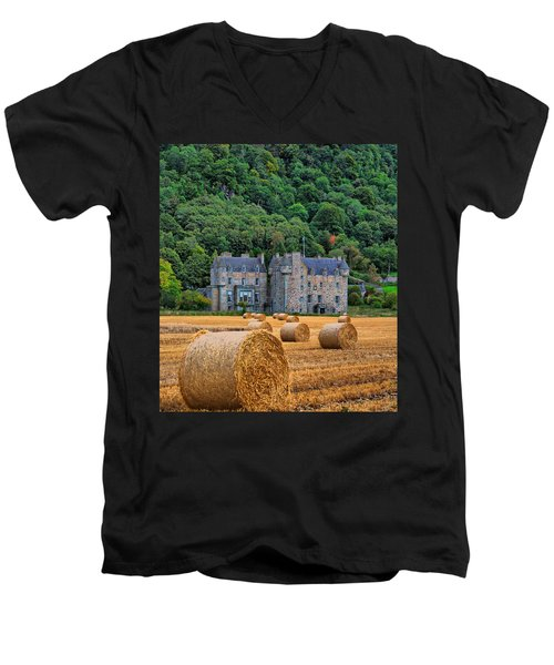 Castle Menzies Men's V-Neck T-Shirt