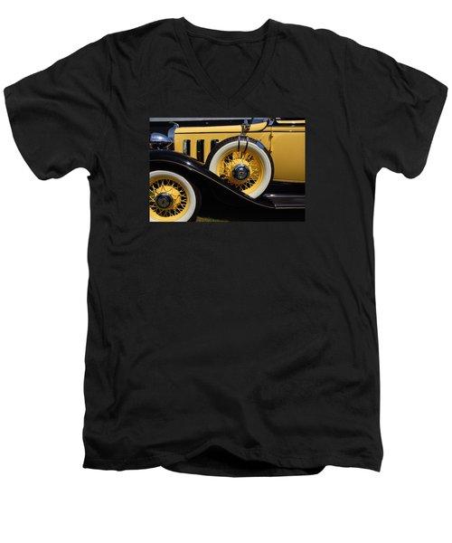 Men's V-Neck T-Shirt featuring the photograph Chevrolet 1932 by John Schneider