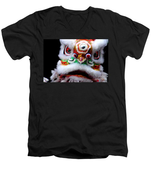 Chinese New Years Nyc 4705 Men's V-Neck T-Shirt
