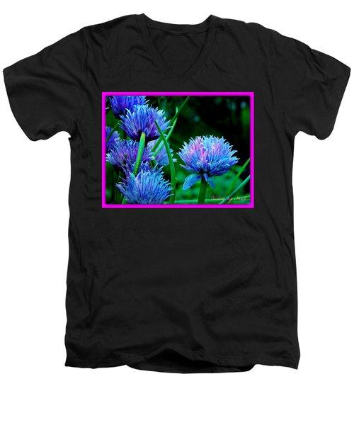 Chives For You Men's V-Neck T-Shirt