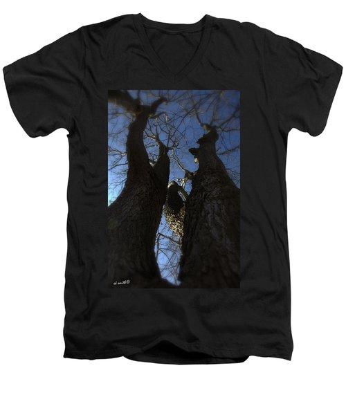 Clash Of Titans Men's V-Neck T-Shirt