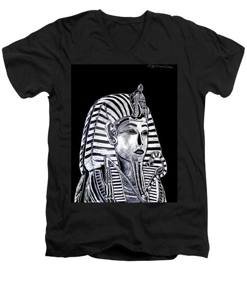 Coffin Of The King Men's V-Neck T-Shirt