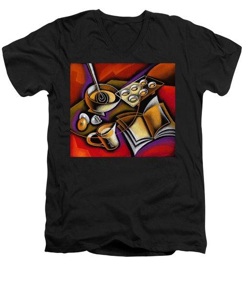 Cooking Men's V-Neck T-Shirt