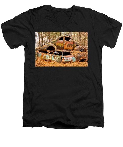 Cristian's Cousin Men's V-Neck T-Shirt