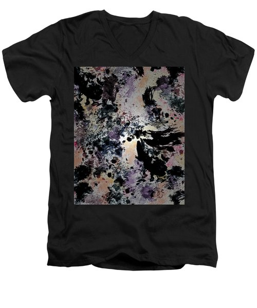 Damask Tapestry Men's V-Neck T-Shirt