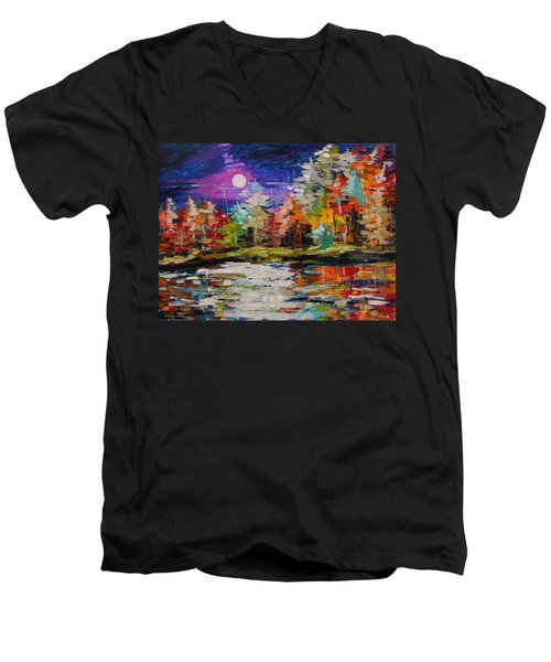 Dance On The Pond Men's V-Neck T-Shirt