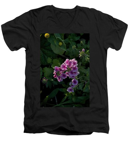 Men's V-Neck T-Shirt featuring the photograph Dark by Joseph Yarbrough