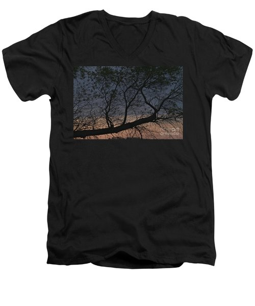 Men's V-Neck T-Shirt featuring the photograph Dawn by William Norton