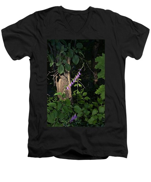 Men's V-Neck T-Shirt featuring the photograph Deep by Joseph Yarbrough