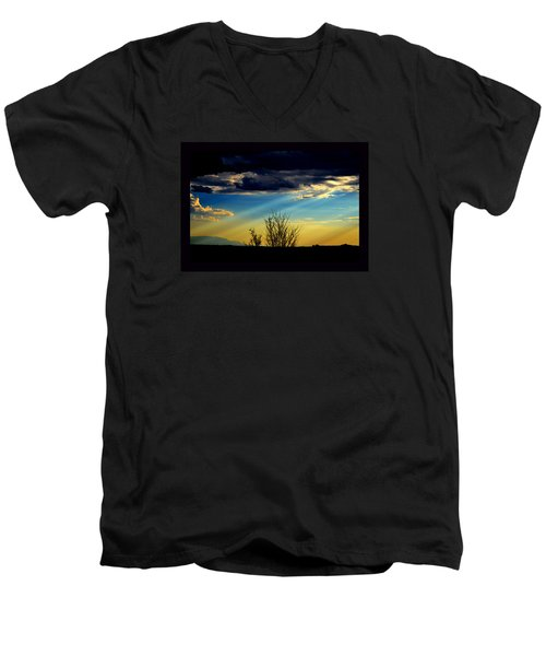 Desert Dusk Men's V-Neck T-Shirt