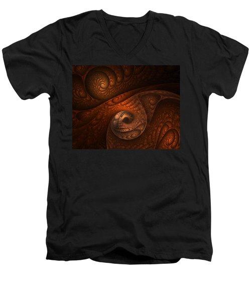 Developing Minotaur Men's V-Neck T-Shirt by Lourry Legarde