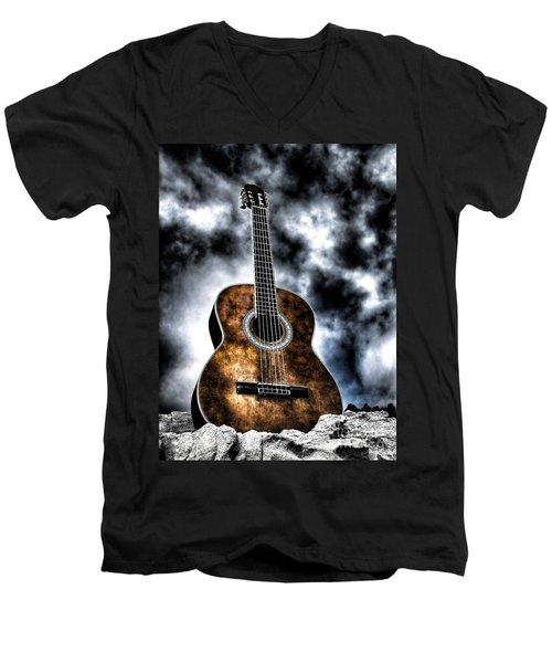 Devils Acoustic Men's V-Neck T-Shirt