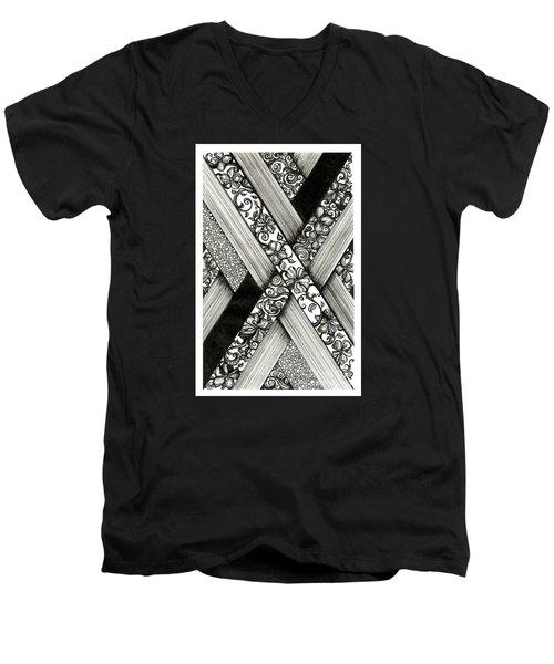Crossing Paths Men's V-Neck T-Shirt