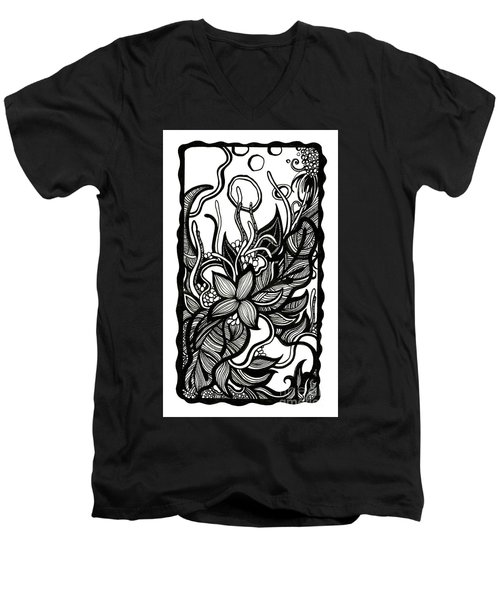 Intertwined Men's V-Neck T-Shirt
