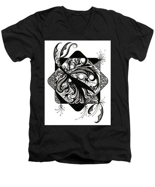 No Boundaries Men's V-Neck T-Shirt