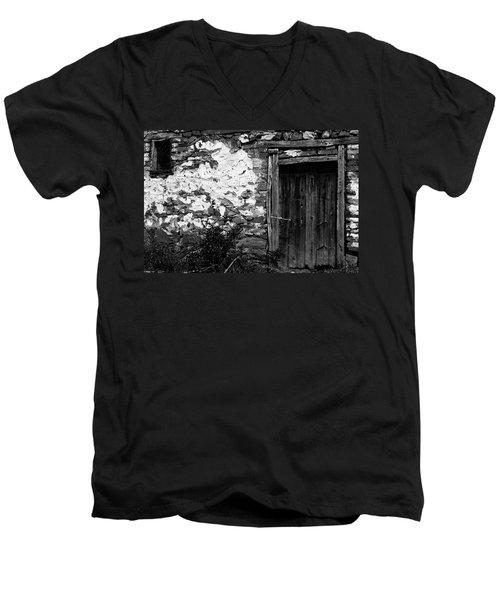 Door  Window And The Wall  Men's V-Neck T-Shirt