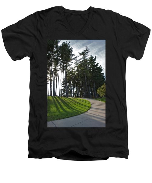 Men's V-Neck T-Shirt featuring the photograph Dramatic by Joseph Yarbrough