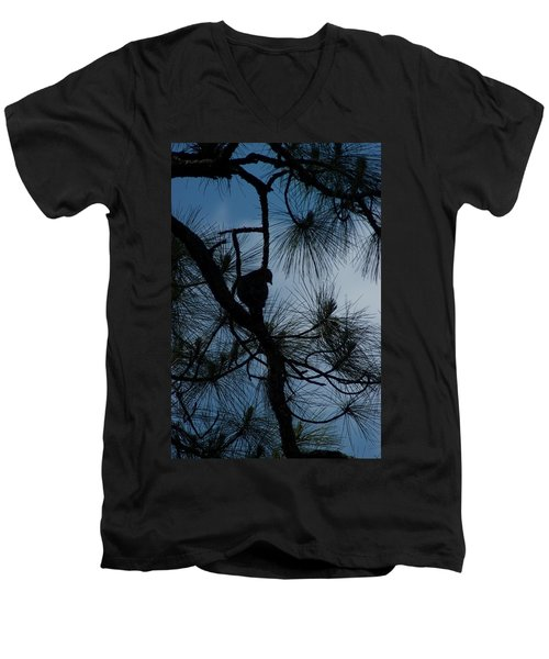 Men's V-Neck T-Shirt featuring the photograph Dusk by Joseph Yarbrough