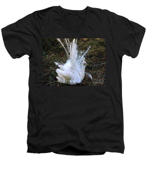 Effervescence Men's V-Neck T-Shirt by Rory Sagner
