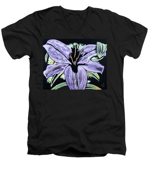 Electric Lily Phase Two Men's V-Neck T-Shirt