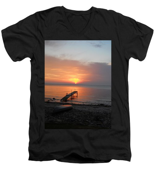 Evening Rest Men's V-Neck T-Shirt