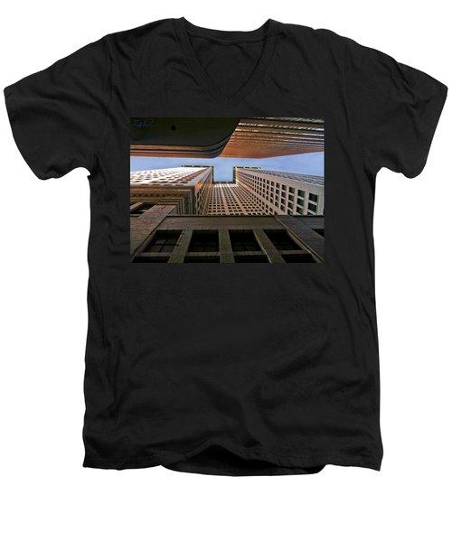 Exchange Canyon Men's V-Neck T-Shirt