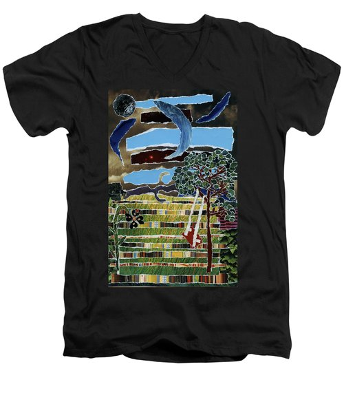 Fabric Of Life Men's V-Neck T-Shirt