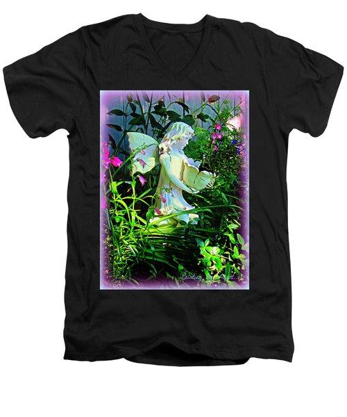 Fairy Girl Men's V-Neck T-Shirt
