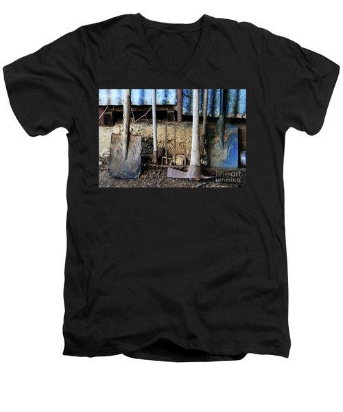 Farm Tool Men's V-Neck T-Shirt