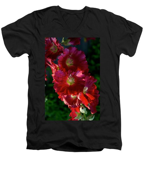 Men's V-Neck T-Shirt featuring the photograph Fertile by Joseph Yarbrough