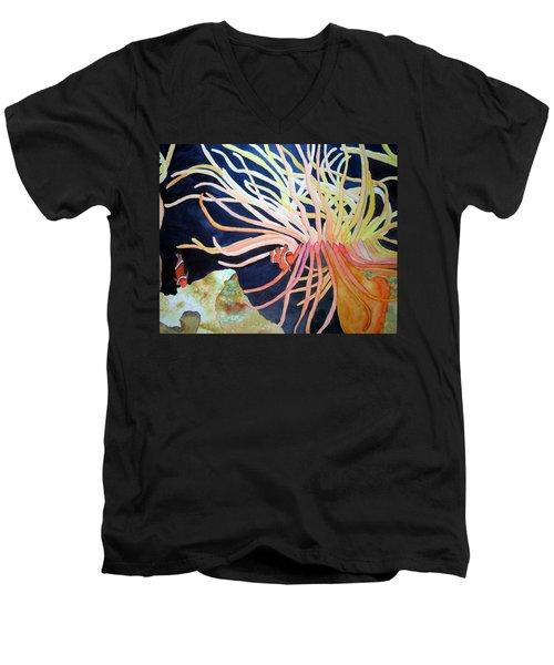 Finding Nemo Men's V-Neck T-Shirt by Laurel Best
