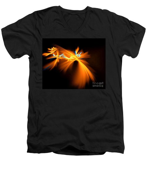 Fireflies Men's V-Neck T-Shirt