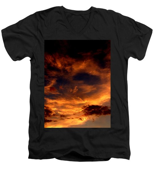 Firesky Men's V-Neck T-Shirt