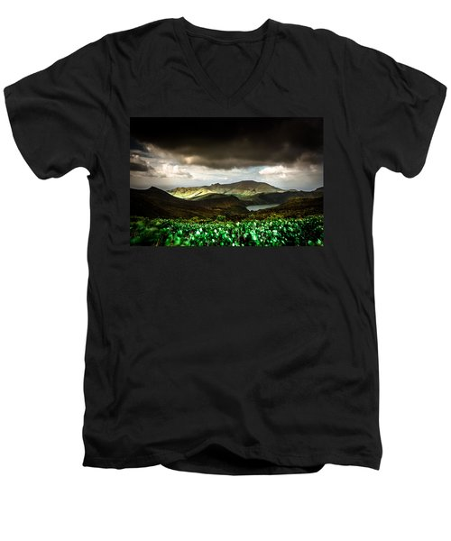 Flores Island - Azores Men's V-Neck T-Shirt