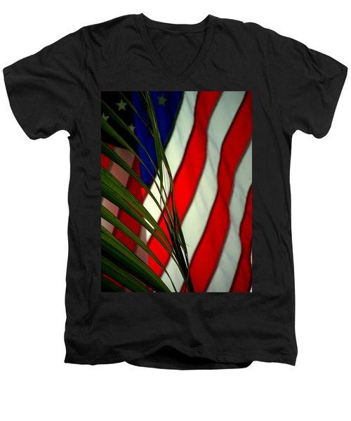 Floridamerica Men's V-Neck T-Shirt