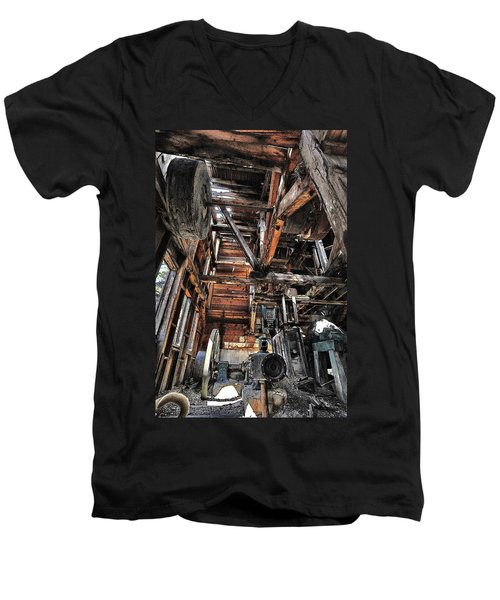 Forgotten Mill Men's V-Neck T-Shirt