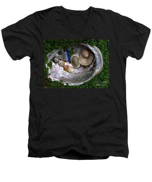 From The Beach Men's V-Neck T-Shirt