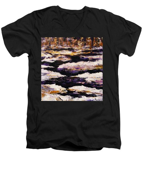 Frozen River Men's V-Neck T-Shirt