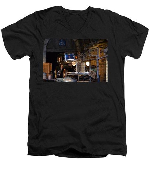 Gangsters Men's V-Neck T-Shirt