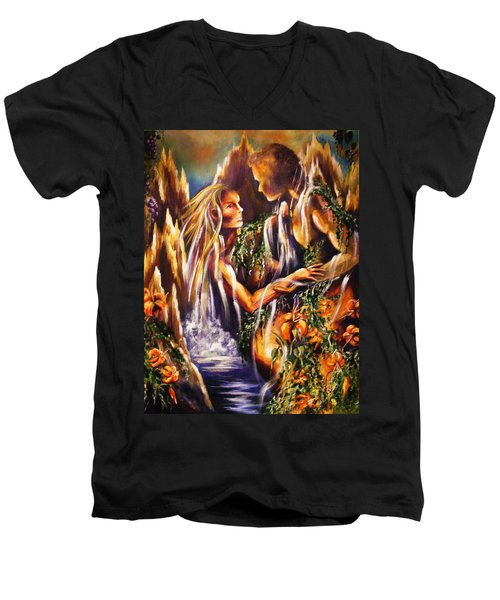Garden Of Earthly Delights Men's V-Neck T-Shirt