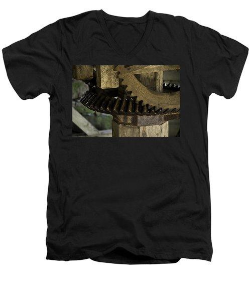 Geared Up Men's V-Neck T-Shirt