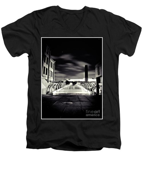 Ghosts In The City Men's V-Neck T-Shirt
