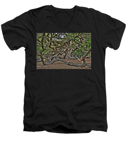 Gnarled Men's V-Neck T-Shirt