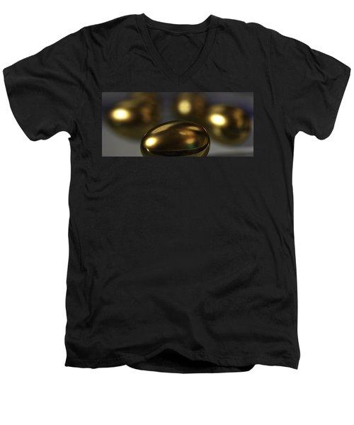 Golden Eggs Men's V-Neck T-Shirt