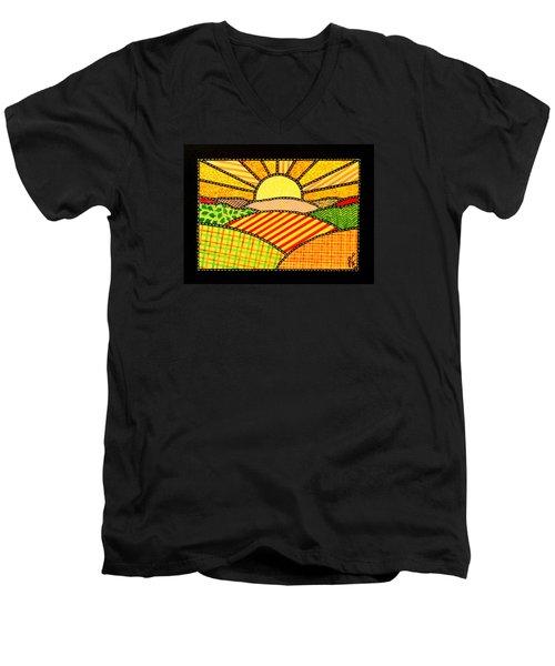 Good Day Sunshine Men's V-Neck T-Shirt