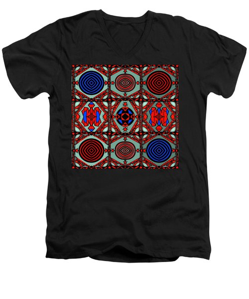 Gothic Wall Men's V-Neck T-Shirt