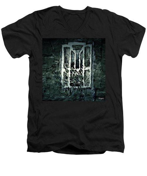 Gothic Window Men's V-Neck T-Shirt