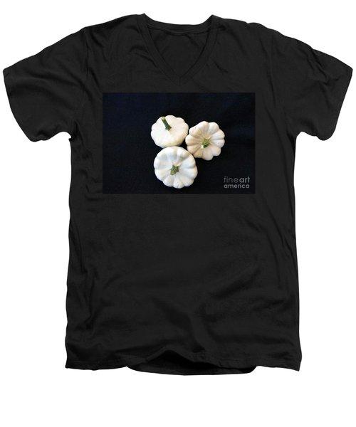 Men's V-Neck T-Shirt featuring the photograph Gourds 10 by Deniece Platt